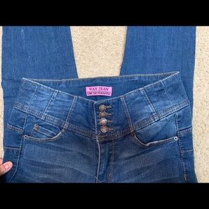 """Wax Jean"" Tummy that I'm beautiful size 5 jeans"